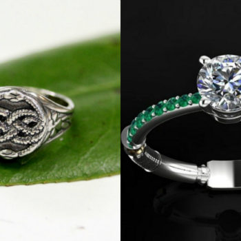 "From ""Harry Potter"" to ""The NeverEnding Story,"" here are 20 fantasy-themed engagement rings"