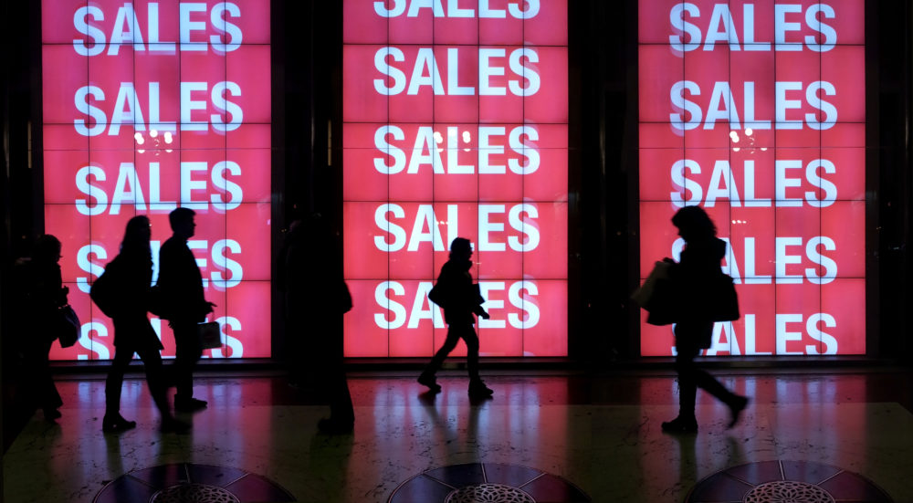 Nearly half of American women will only enter a store if there's a sale, which honestly makes sense