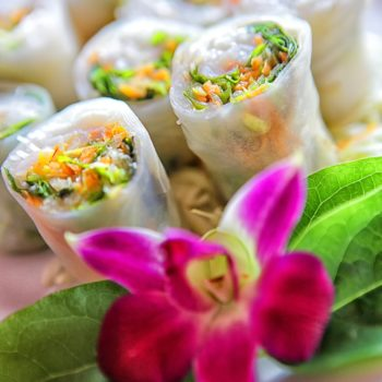 Guys. Unicorn summer rolls are here and they are as magical as they sound