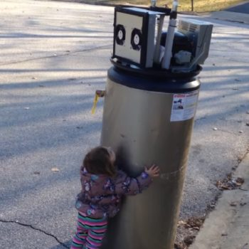 "This little girl fell in love with a ""robot,"" and our human hearts can't handle it"