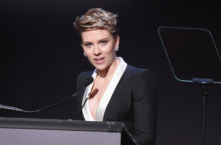 Scarlett Johansson says she may run for public office