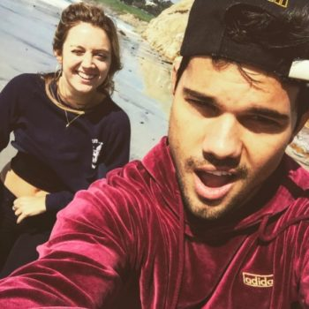 Billie Lourd and Taylor Lautner got out of L.A. for a picture-perfect day date