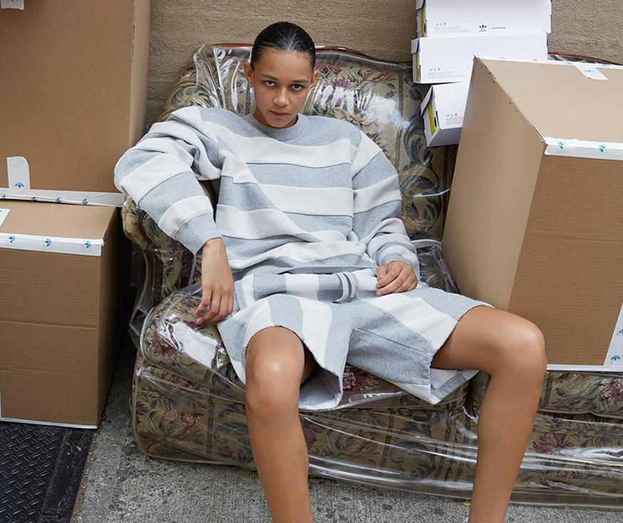 Alexander Wang's latest Adidas Originals collection is officially here