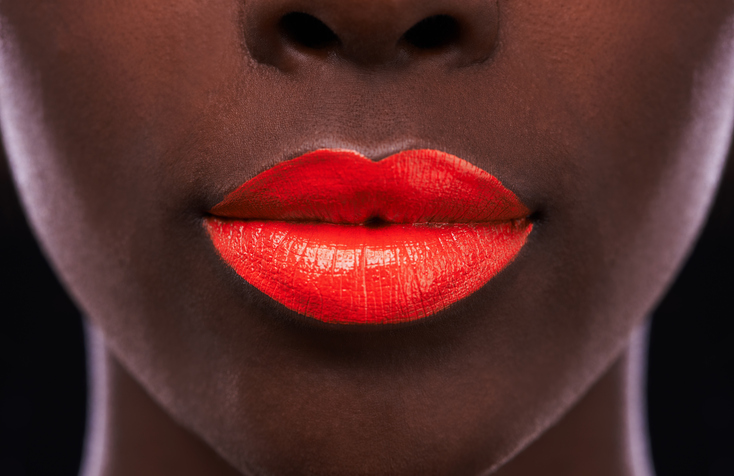 Here's the easiest (and fastest) way to remove bright lipstick