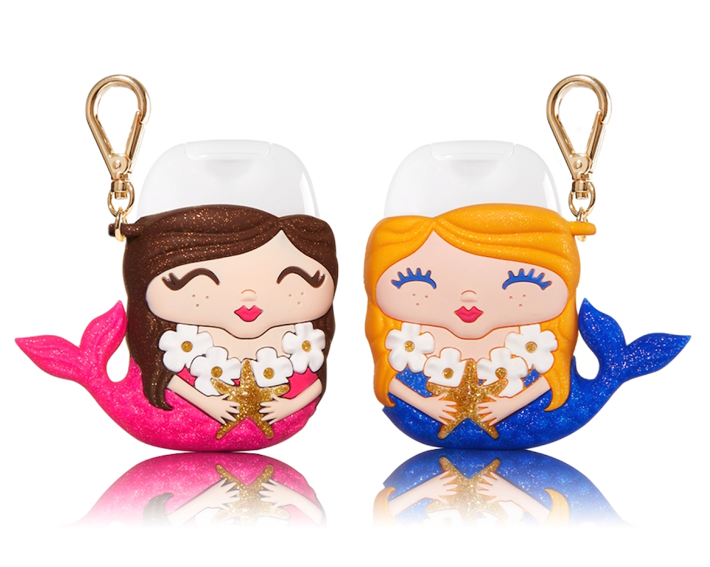 Bath & Body Works released the cutest mermaid hand sanitizer set