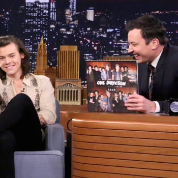 "Jimmy Fallon is heading back to ""SNL"" and he's bringing Harry Styles with him"