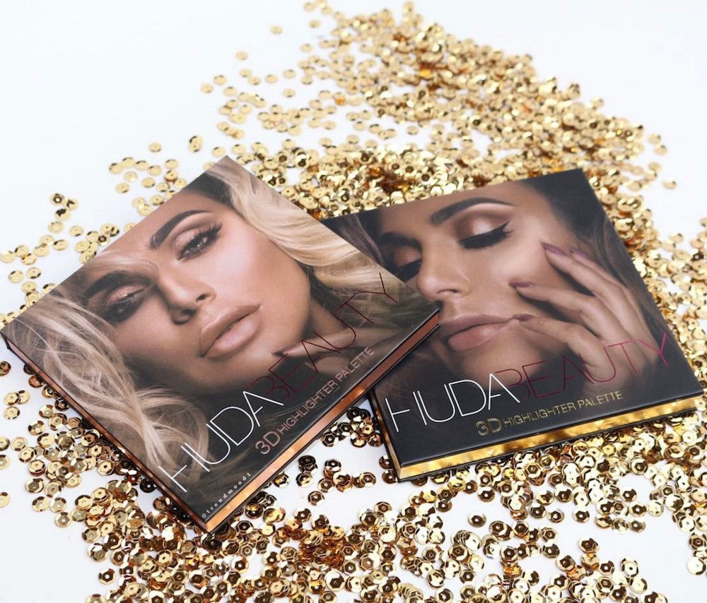 Run, don't walk because Huda Beauty launched her coveted 3D Highlighter palettes