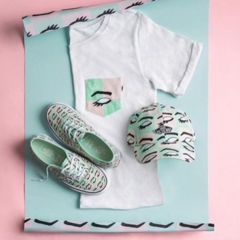 This indie artist teamed up with Vans for a beauty-themed collection, and we are swooning