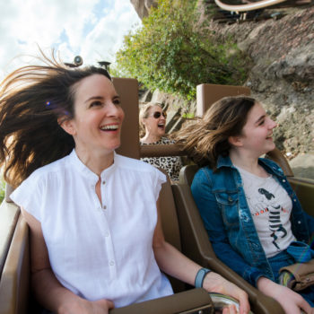 Here's a video of Tina Fey riding a roller coaster, because you need this