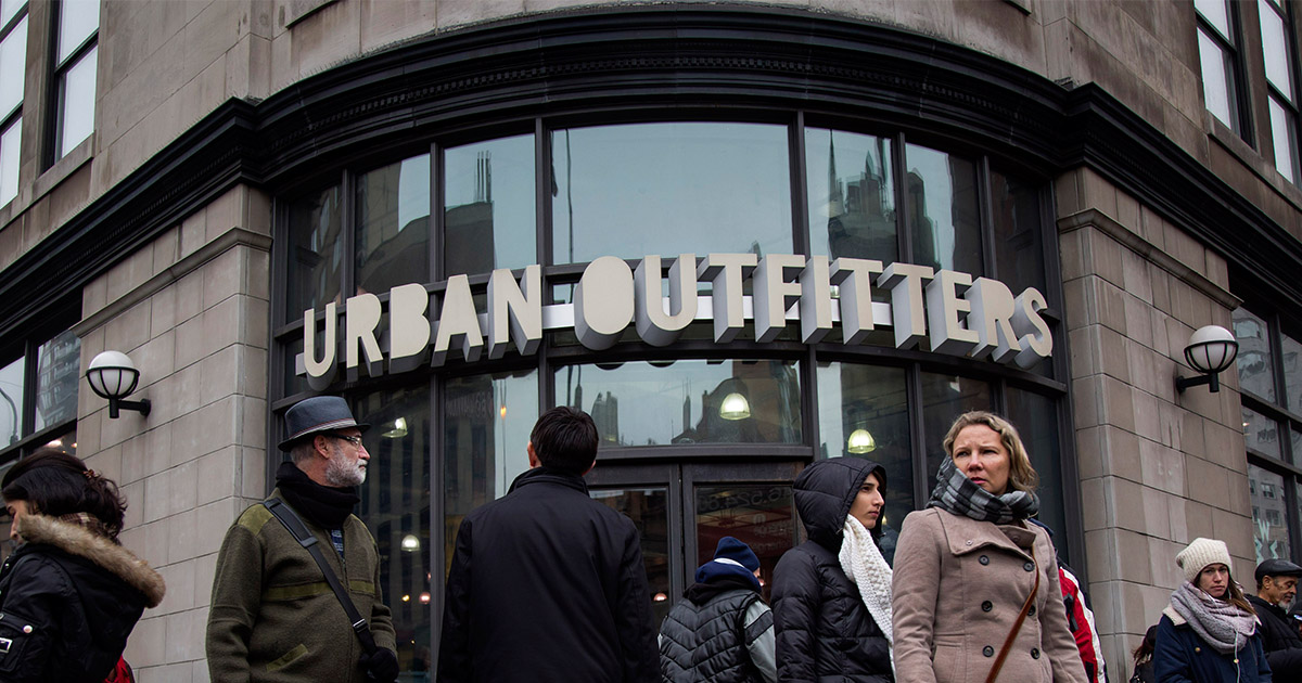 Here's why millennials are shopping the most at Urban Outfitters and Hot Topic