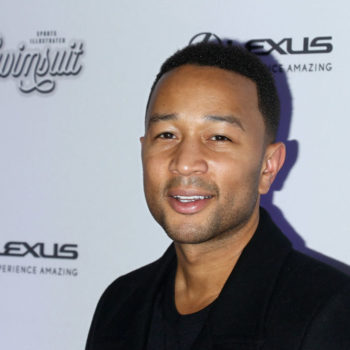 John Legend performed at a train station in London for a bunch of surprised commuters