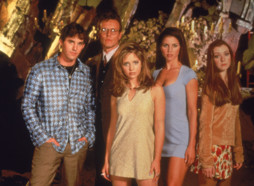 "There was a ""Buffy the Vampire Slayer"" reunion and STOP EVERYTHING NOW"