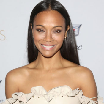 Zoe Saldana's hair secret is hiding in your liquor cabinet