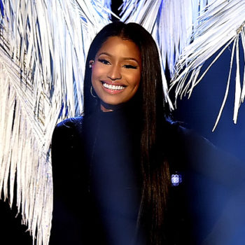 "Nicki Minaj can now add ""signed model"" to her resume"