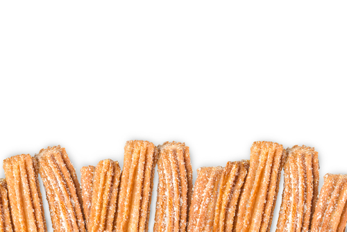 These rainbow churros are the prettiest treats you'll see all day