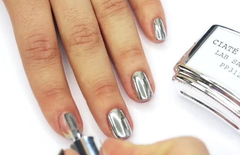 Hold the phone: Ciaté London is releasing the first liquid mirror chrome nail polish