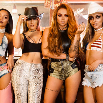 "Watch Little Mix go full ""Coyote Ugly"" in their new video"