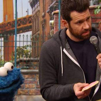 "Billy Eichner takes ""Billy on the Street"" to ""Sesame Street,"" and it's ADORABLE"