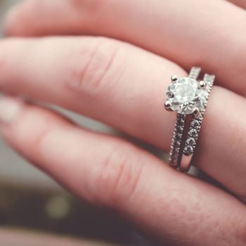The price markup on most diamond rings will probably stun you