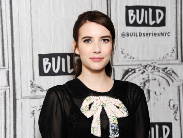 Emma Roberts is carrying the space fashion trend straight into spring