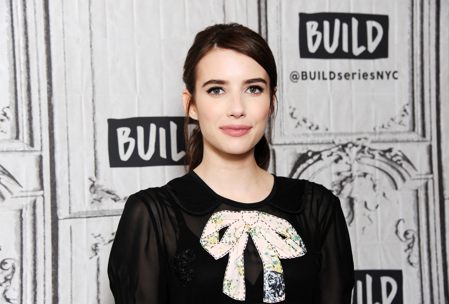 Emma Roberts hopes she has to shave her head for a role one day, and that would be so badass