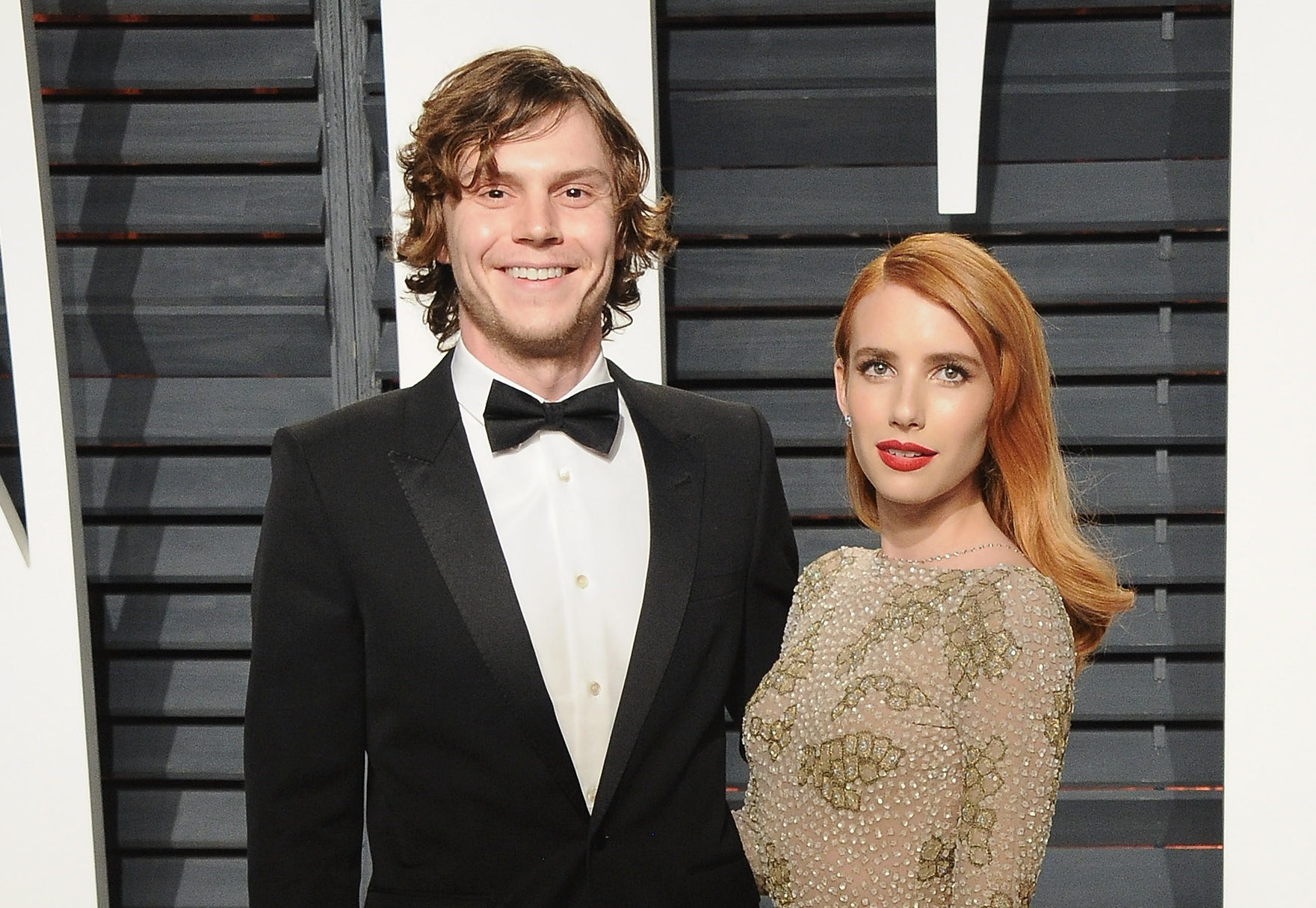 Evan Peters showed his love for Emma Roberts' book club