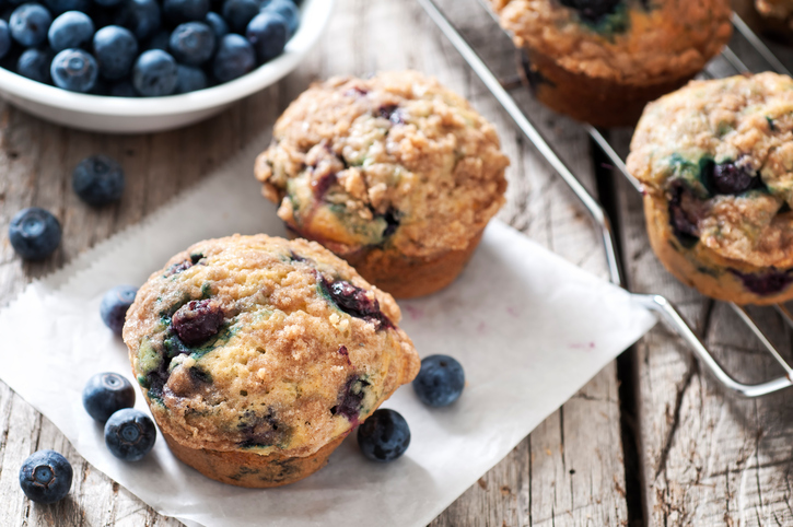 We have some upsetting news about the blueberries in your blueberry muffins