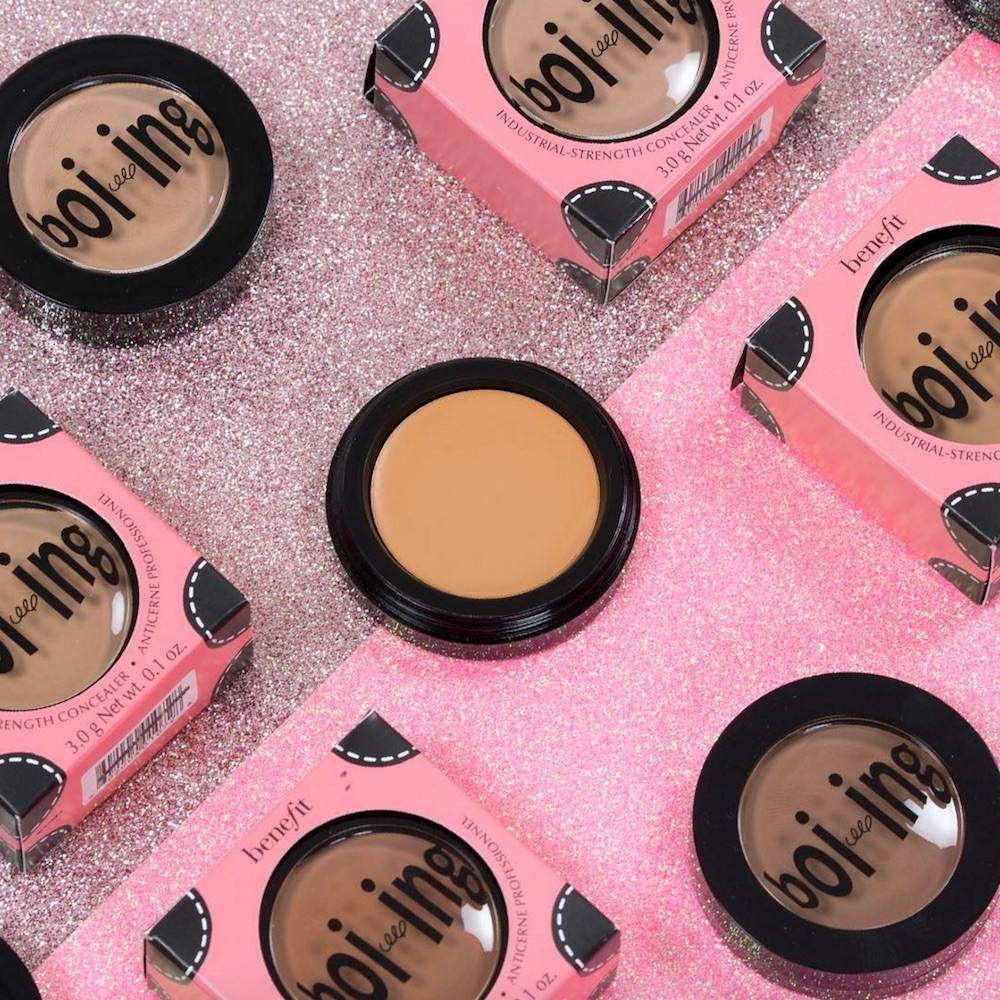 Here's the complete lowdown on Benefit Cosmetics' new Boi-ing concealer collection