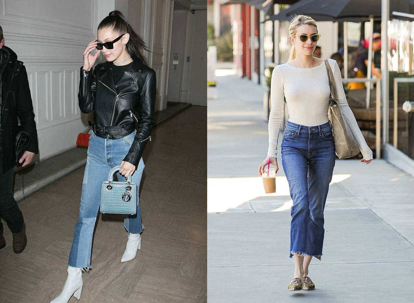 The 6 denim trends you need to try in 2017, because it doesn't hurt to switch things up