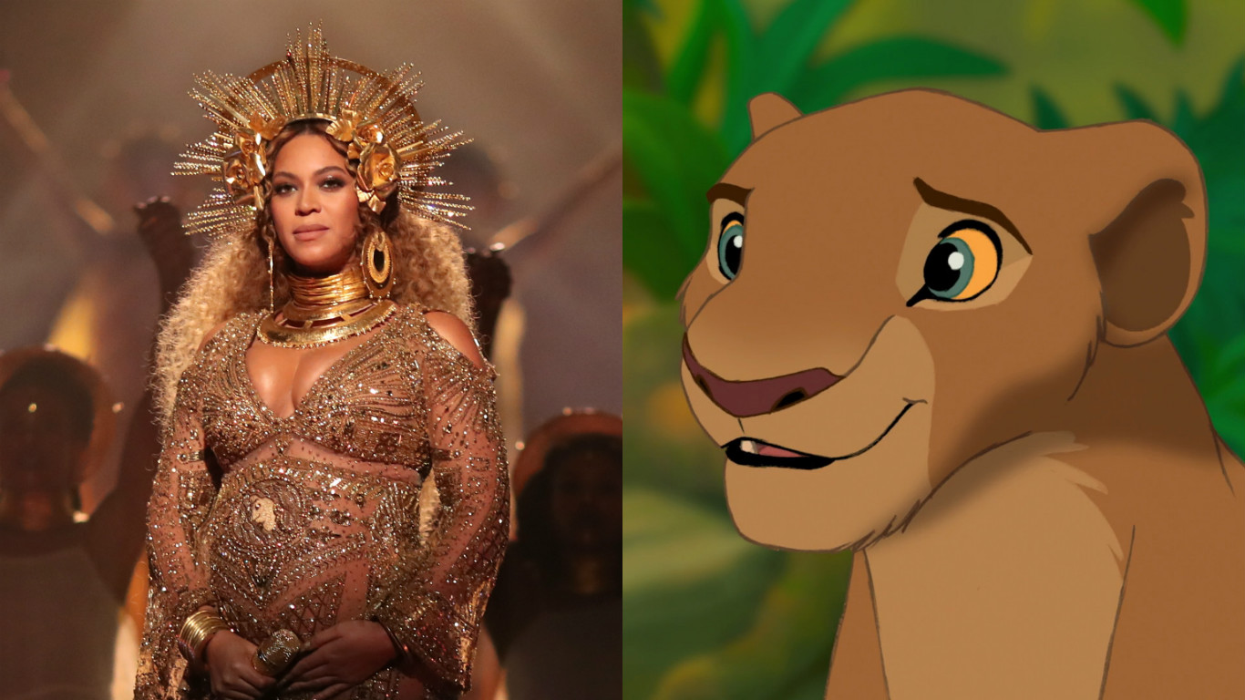 "Soon she might be Queen of Pride Rock, because Disney wants Beyoncé to voice Nala in ""The Lion King"""