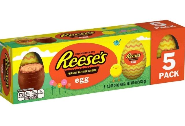 Reese's is winning the Easter candy game with their new Peanut Butter Créme Egg