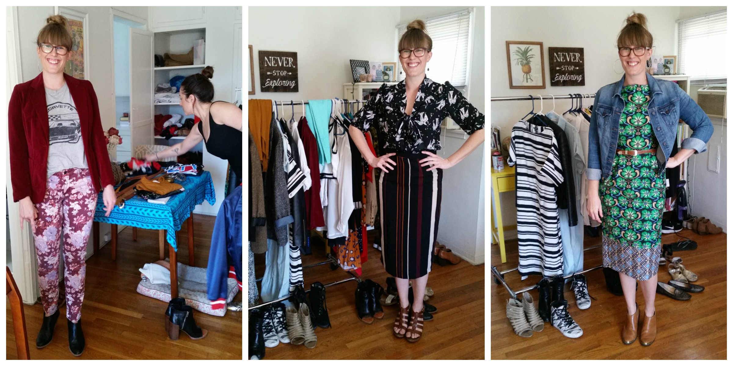 A professional stylist showed us how to reinvent our spring workwear wardrobe, no shopping required