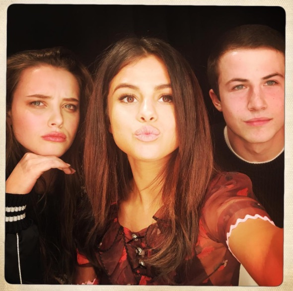 "The star of ""13 Reasons Why"" can't wrap her head around how ""normal"" and down-to-earth Selena Gomez is"
