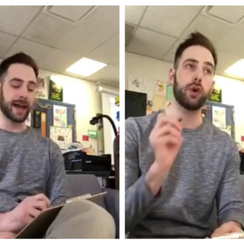 This teacher gave his students a hilariously fake spelling test as an early April Fool's prank