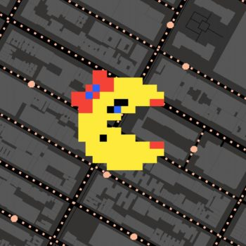 Google Maps just got a Ms. Pac-Man makeover