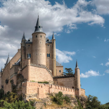 This castle is so magical it inspired Walt Disney so BRB, packing our Disney-bedazzled suitcases right now