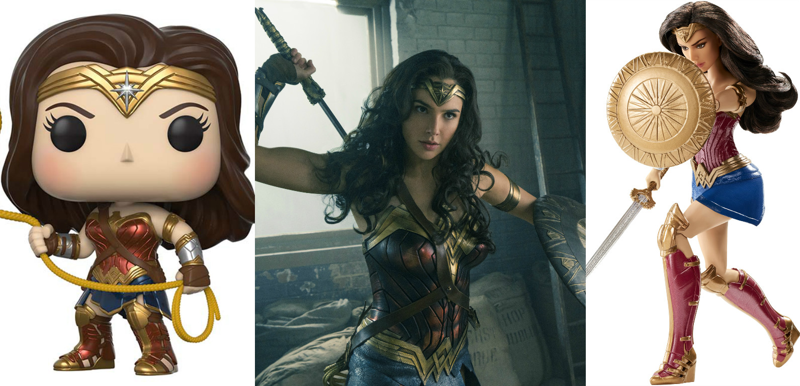 """The new """"Wonder Woman"""" toys are here to remind us that females are strong as hell"""