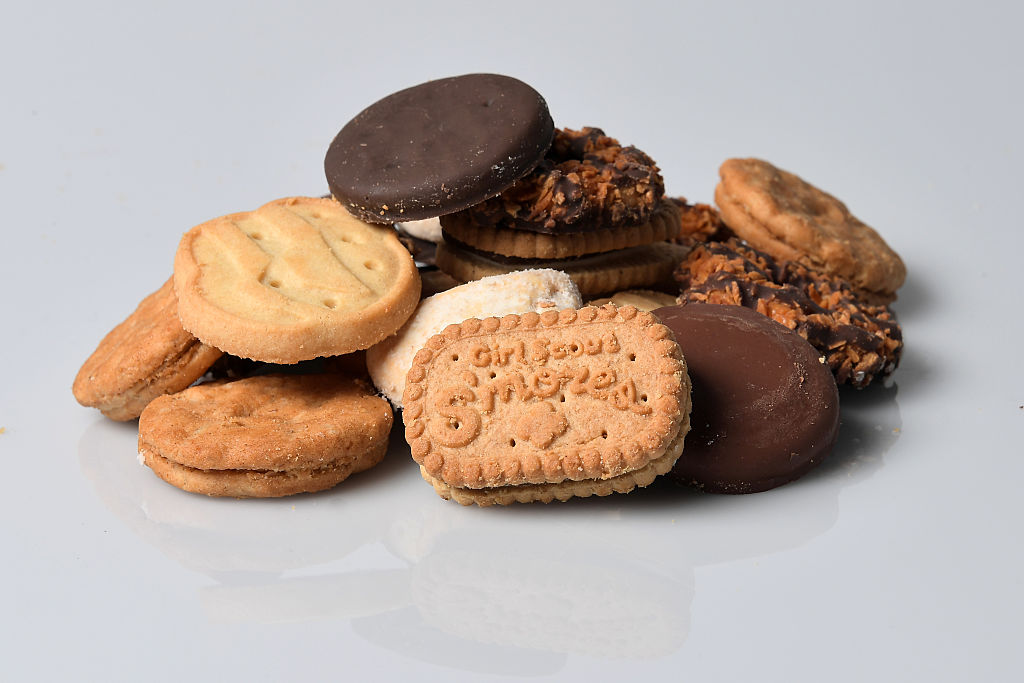 Girl Scout cookies are now on Amazon, if you've still got a Thin Mint craving