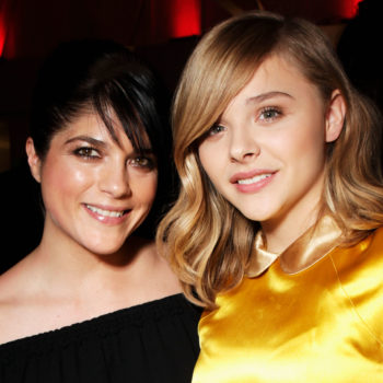 Chloë Grace Moretz and Selma Blair were twinning at a party, and they both looked amazing