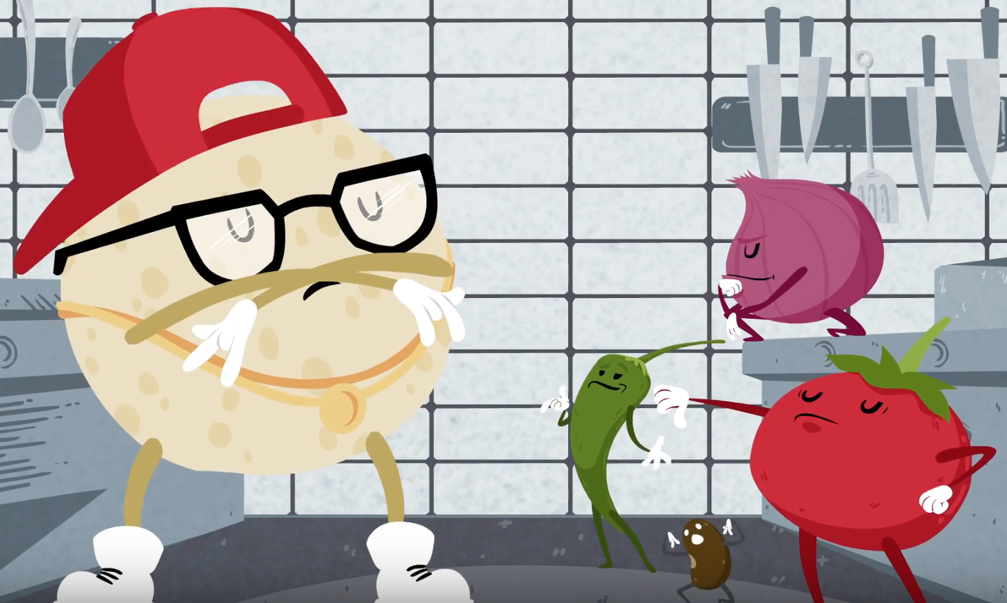 Chipotle has a new mascot that raps, and we'll let you decide how you feel about it