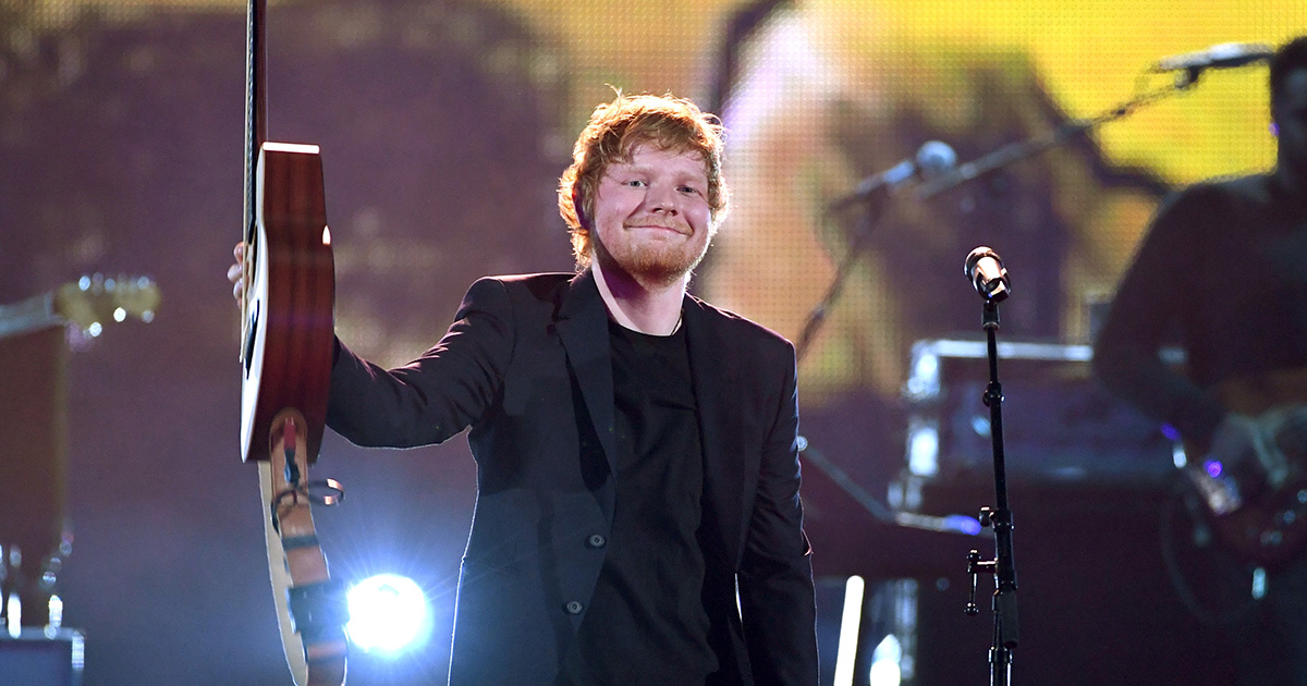 Apparently playing Ed Sheeran in fast food chains makes you want to buy more fries, and huh!?