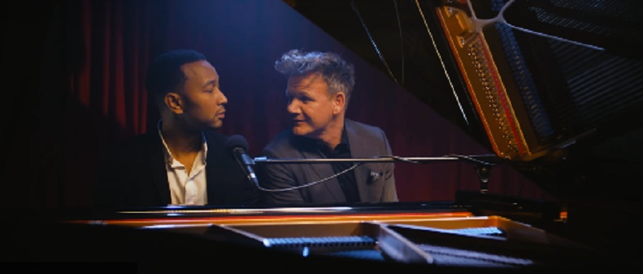 John Legend sang Gordon Ramsay's most brutal insults so well, they almost sounded nice