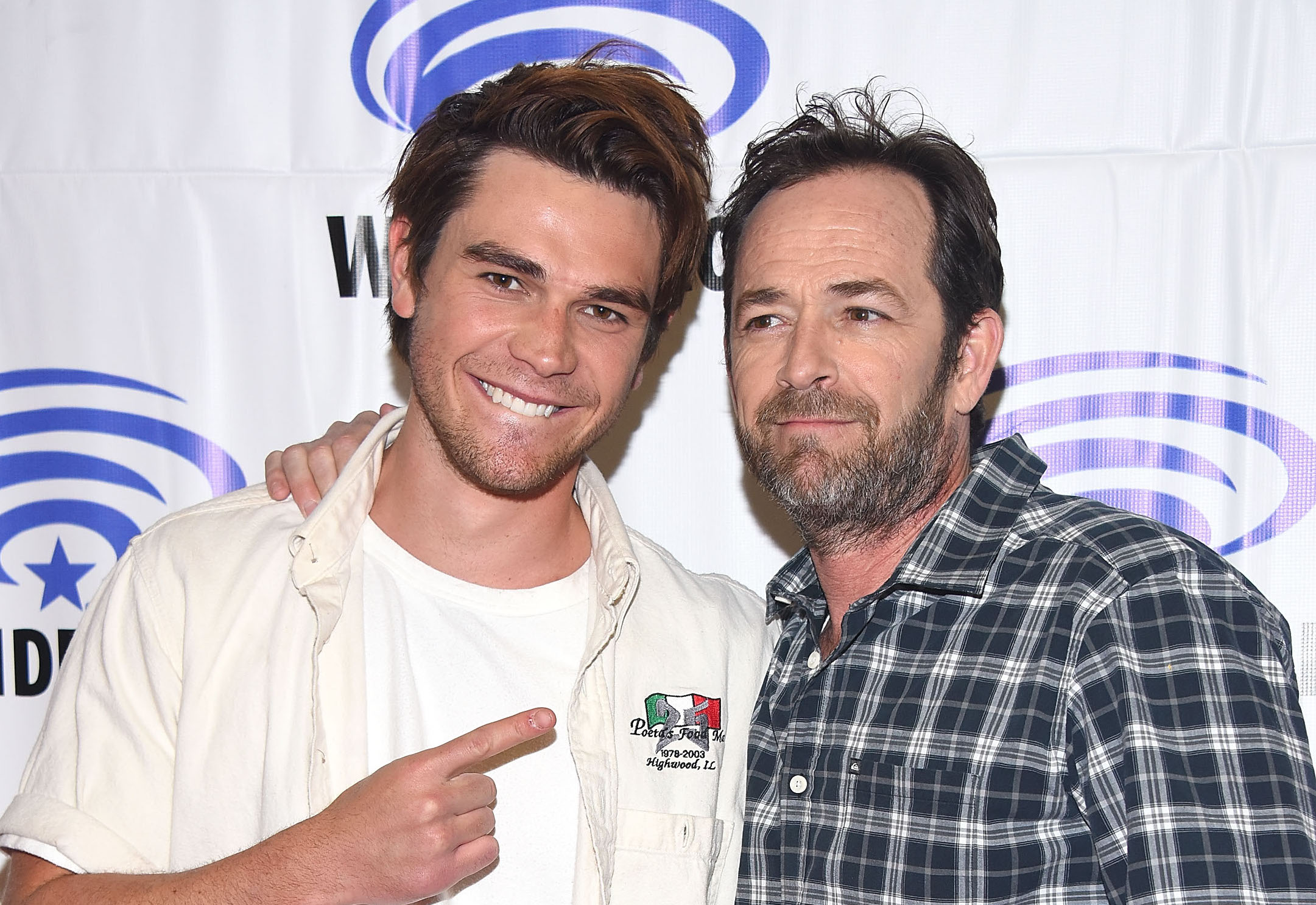 """Riverdale's"" Luke Perry and KJ Apa are basically like father and son IRL"