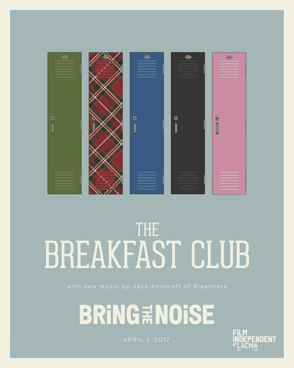 film independent s screening of the breakfast club reminds us not gonna lie it was the poster that me convincing me that this is how i d want to spend a chunk of my weekend