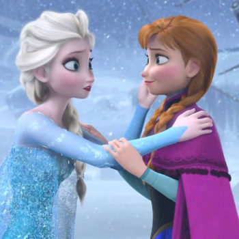 """These two toddlers recreating their favorite scene from """"Frozen"""" is too pure for this world"""