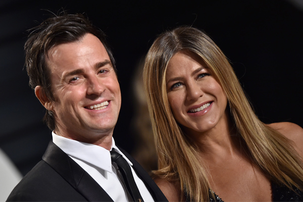 Justin Theroux wants to write a TV role for Jennifer Aniston, but says it's trickier than they thought