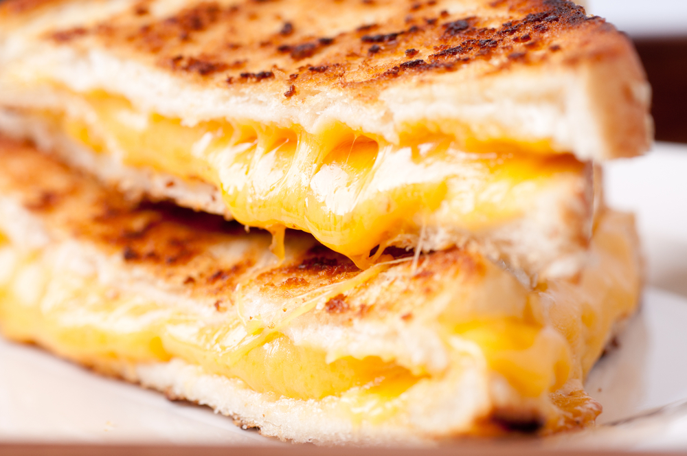This recipe will help you make the perfect grilled cheese sandwich