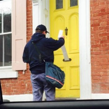 This family pranked their mailman on April Fool's Day with an unbelievably long letter