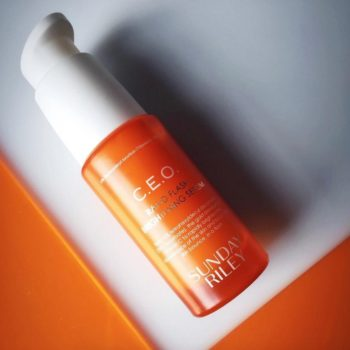 Sunday Riley's new C.E.O. Rapid Flash Brightening serum is jam-packed with Vitamin C