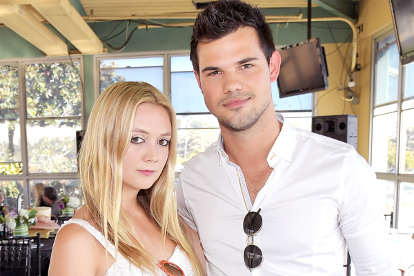 Billie Lourd and Taylor Lautner prove that the couple that face masks together, stays together